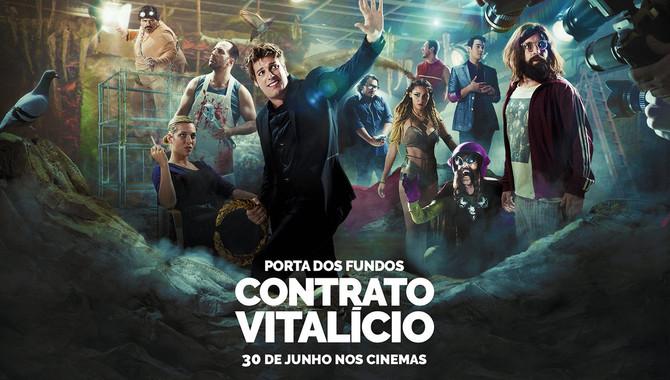Hoje tem pré-estreia no Kinoplex RIOSUL do Primeiro filme do Porta dos Fundos