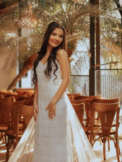 Vestido de noiva Sahara