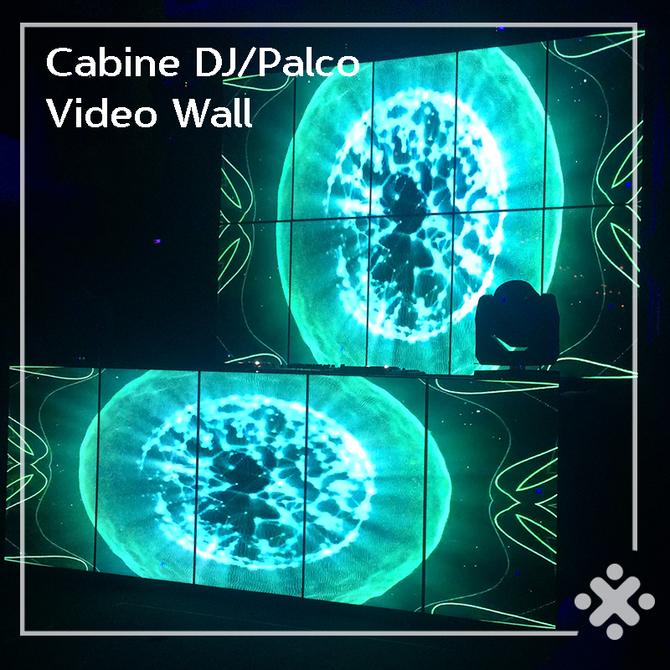Vídeo Wall para incrementar seu evento