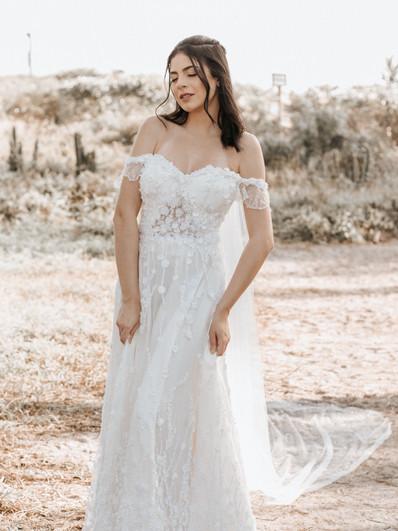 Vestido de noiva Coquilicot
