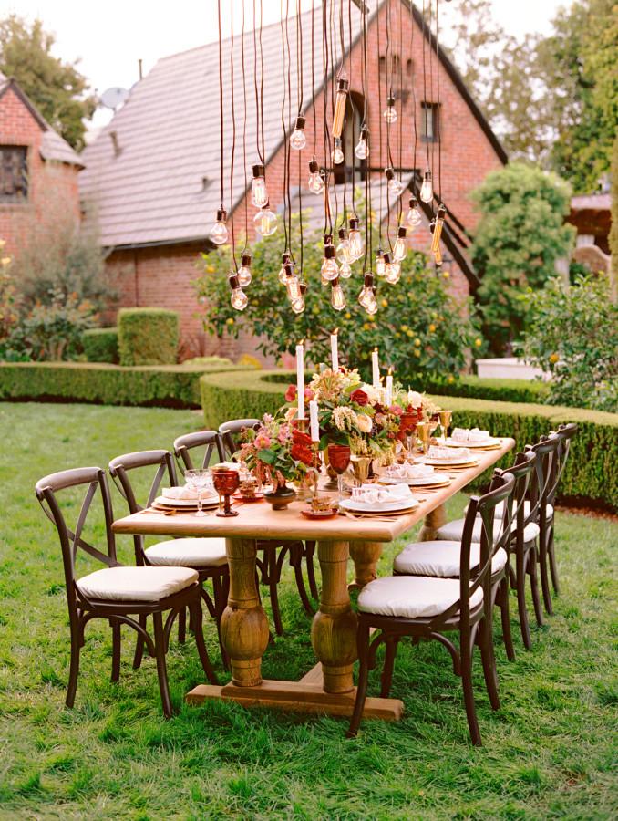 Lâmpadas Vintage Retrô para casamentos e festas