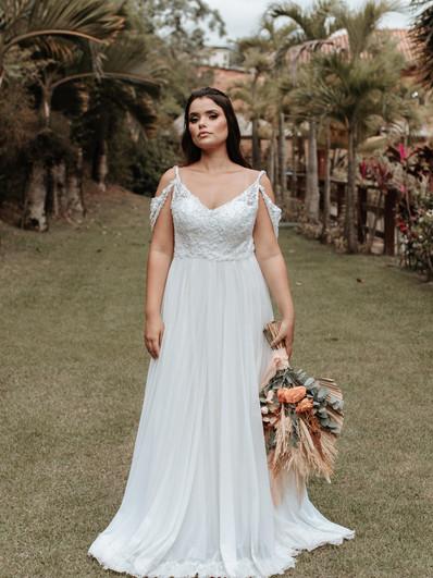 Vestido de noiva Nubia
