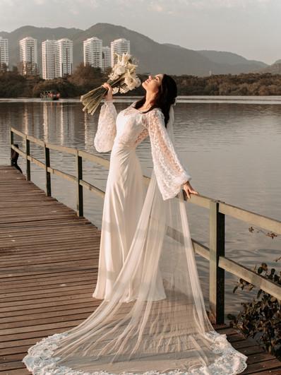 Vestido de noiva Petale