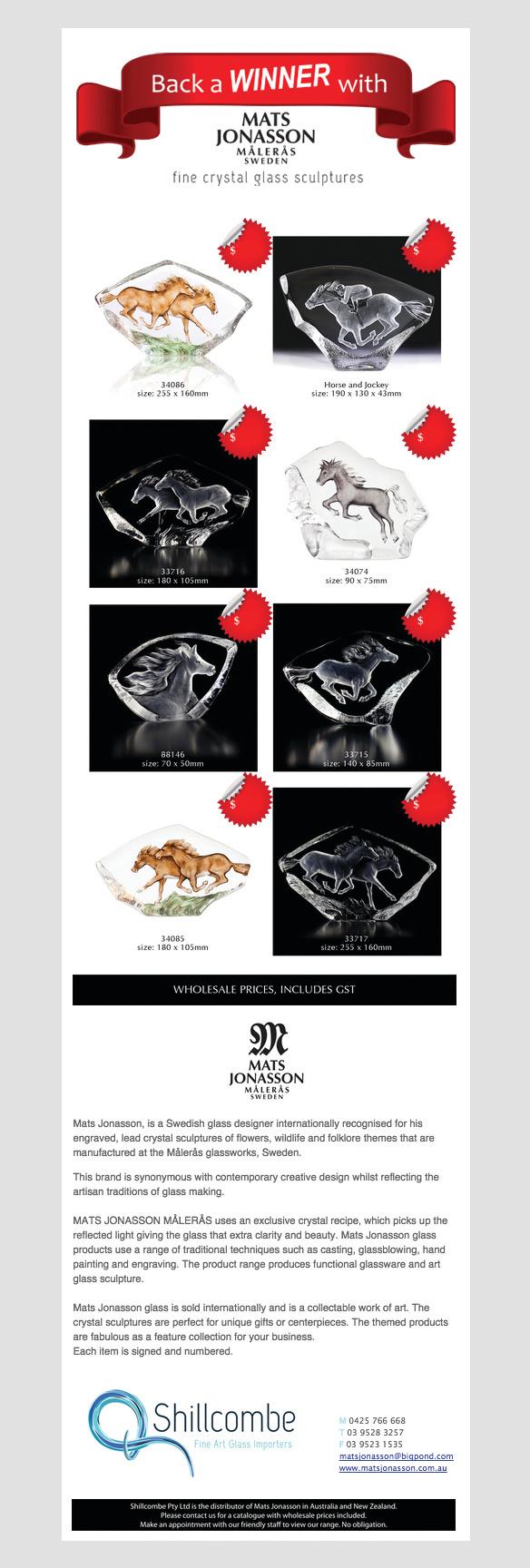 Shillcombe Fine Art Glass Importers