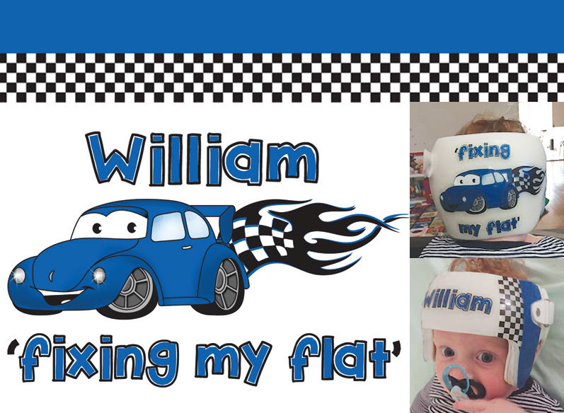 'Fixing my Flat' VW Design
