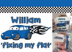 'Fixing my Flat' VW Design
