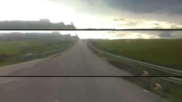 Trajet tracé  Tunisie #01