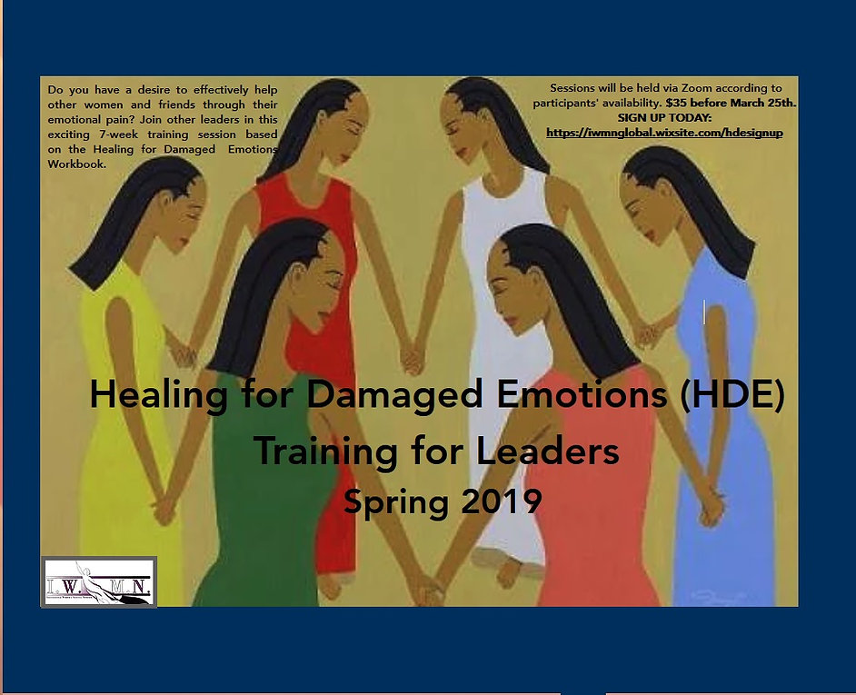 Healing for Damaged Emotions Training fo