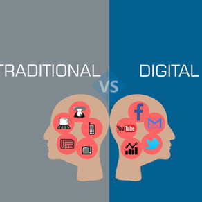 Know The Difference Traditional vs. Digital