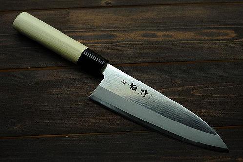 Cuchillo Deba Japones - Chef Japanese Profesionales Para Sushi y Sashimi - 18cm