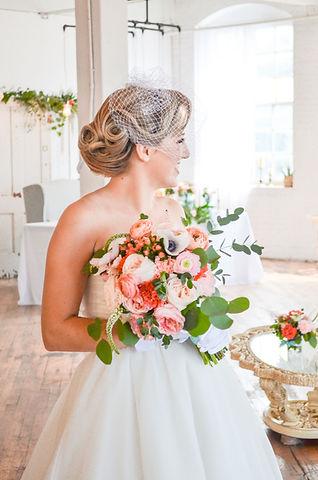 Our Brides real weddings michigan bridal hair and makeup
