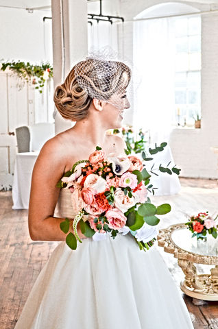 Our Brides real weddings michigan bridal hair and makeup
