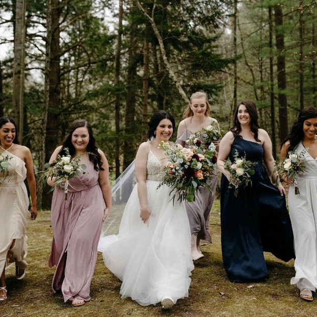 Barothy Lodge Michigan wedding boho hair and makeup