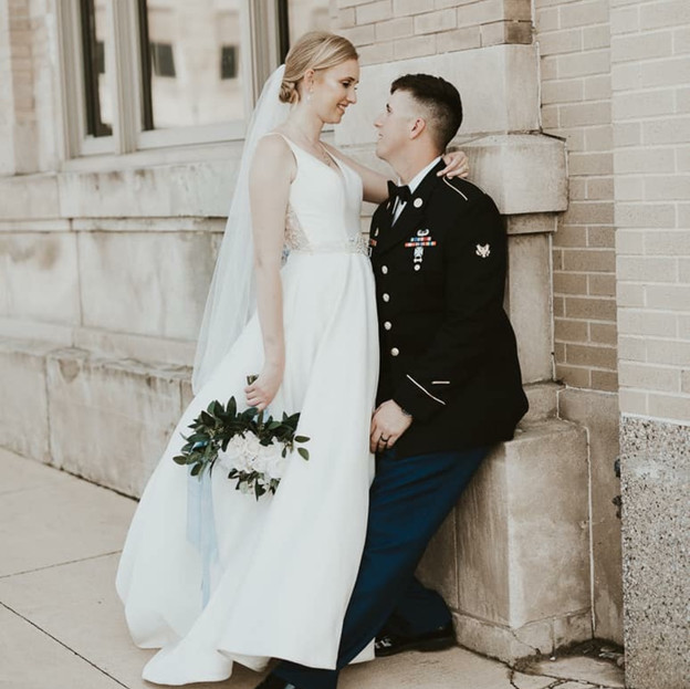 Muskegon Michigan Bride