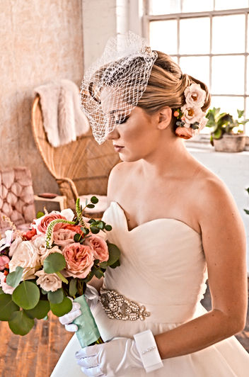 BRIDAL HAIR AND MAKEUP ON LOCATION