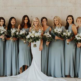 GRAM elegant bride and baridal party hair and makeup Michigan