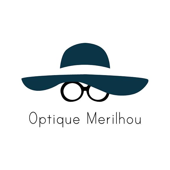 Logo femme lunettes
