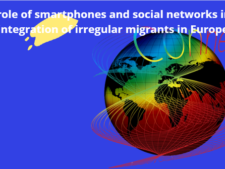 The role of smartphones and social networks in the integration of irregular migrants in Europe