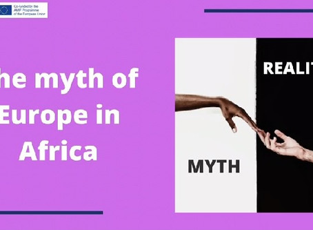 The myth of Europe in Africa