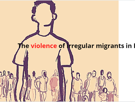 Violence by irregular immigrants in Europe