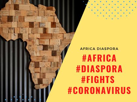 Africa Diaspora Fights Coronavirus