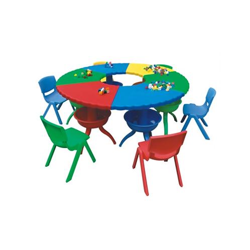 Bàn chơi đa năng tròn (không bao gồm ghế)