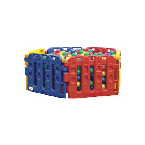 Bể bóng lục lăng 3 màu