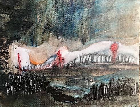 Miroslawa Sztuczka Crumbles From Reconstruction | Miroslawa Sztuczka Art Gallery