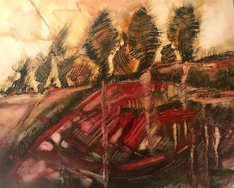 Miroslawa Sztuczka Late Fall | Miroslawa Sztuczka Art Gallery