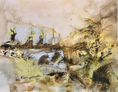 Lonely Willows | Miroslawa Sztuczka Art Gallery