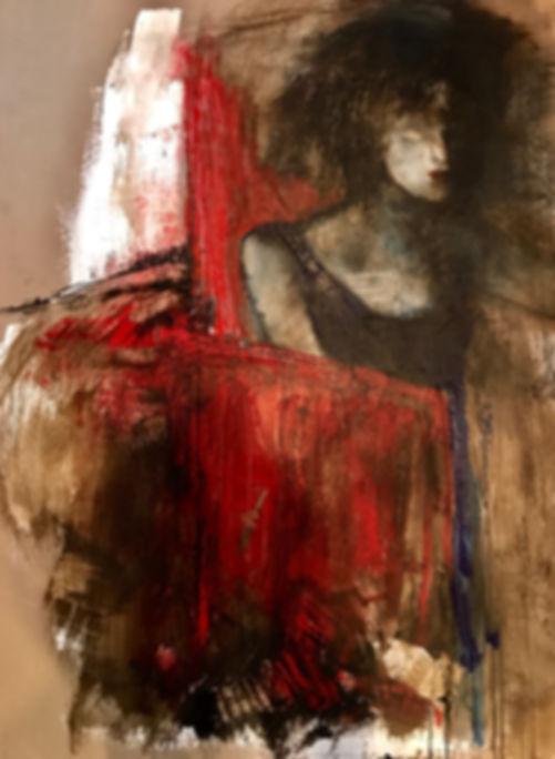 Red Transience | Miroslawa Sztuczka Art Gallery