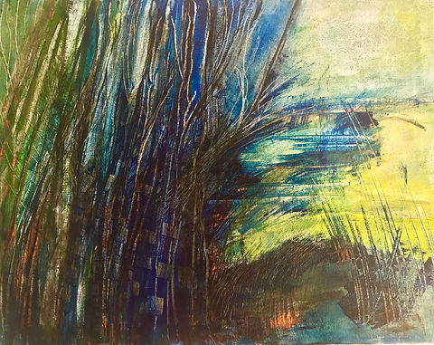 Dancing Birches | Miroslawa Sztuczka Art Gallery