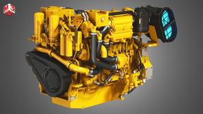 6 Cylinder Marine Diesel Engine