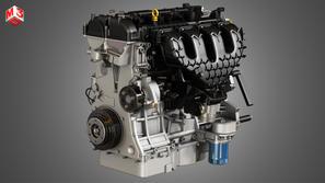 4 Cylinder EcoBoost Engine