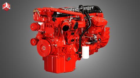 X12 Heavy Duty Truck Engine - 6 Cylinder Diesel