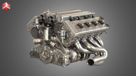 RUF - V8 Engine