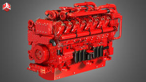 16 Cylinders Engine - Marine