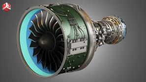 PW Turbofan Engine