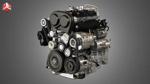 E 4 Cylinder Turbocharged Petrol Engine