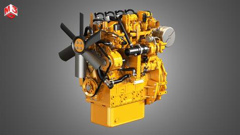 C2-2 - 4 Cylinder Diesel Engine