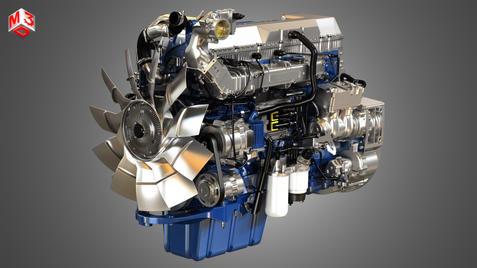 6 Cylinder Diesel Engine