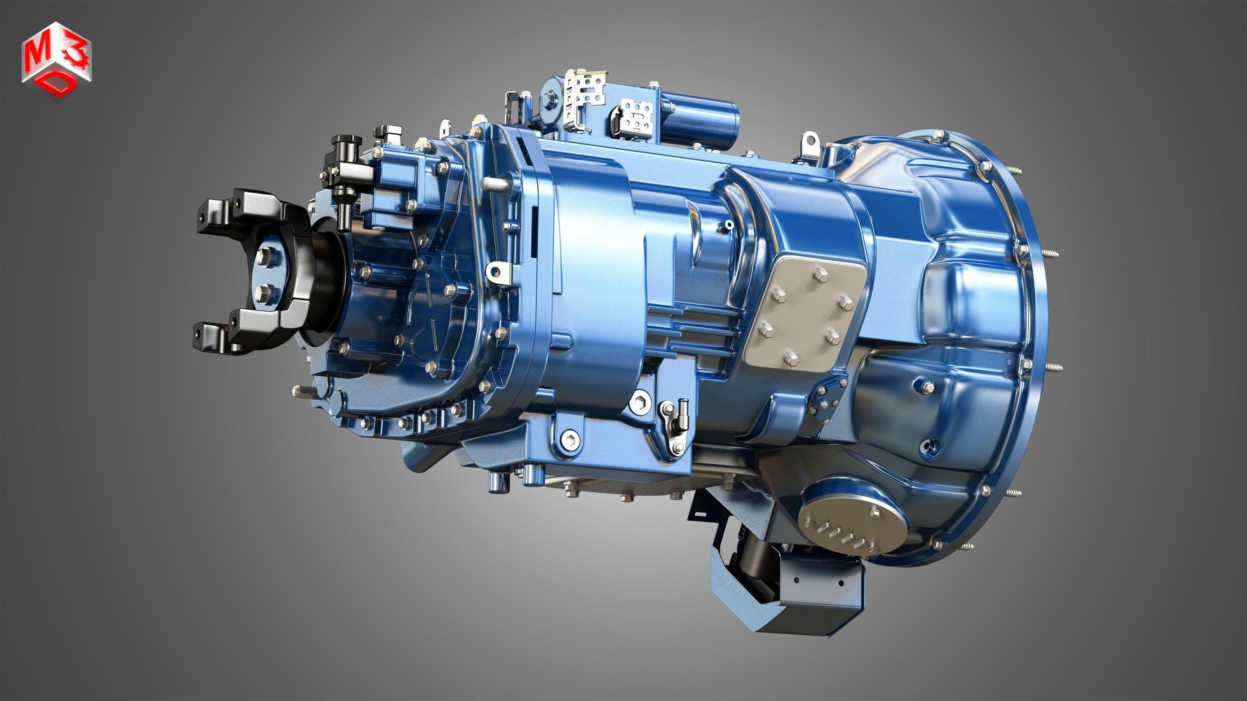 heavy-duty-truck-transmission-3d-model-