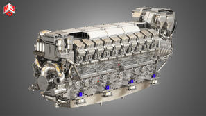 V20 8000 Engine - Marine Diesel Engine