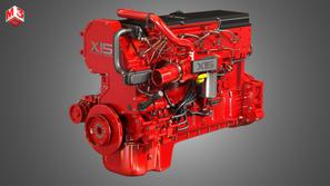 Heavy Duty Truck Engine - 6 Cylinder Diesel