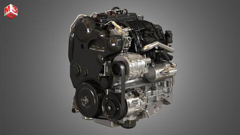 E 4 Cylinder Turbocharged Diesel Engine