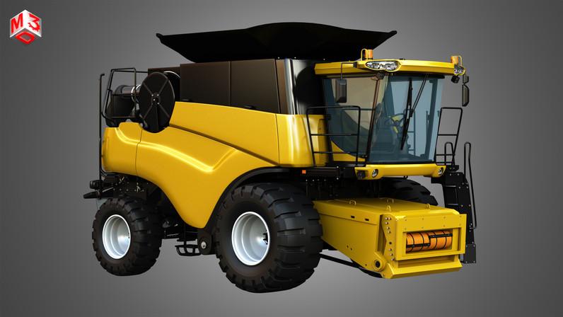 nh-cr-9070-combine-harvester-3d-model-ma