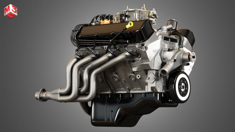 427-engine-v8-muscle-car-engine-3d-model