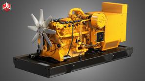 V12 Generator Engine