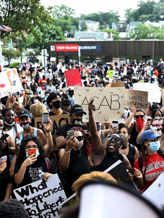 West Orange Black Lives Matter Protest
