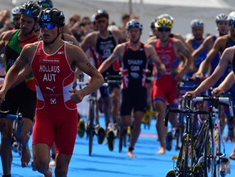 World Triathlon Series startet in Abu Dhabi